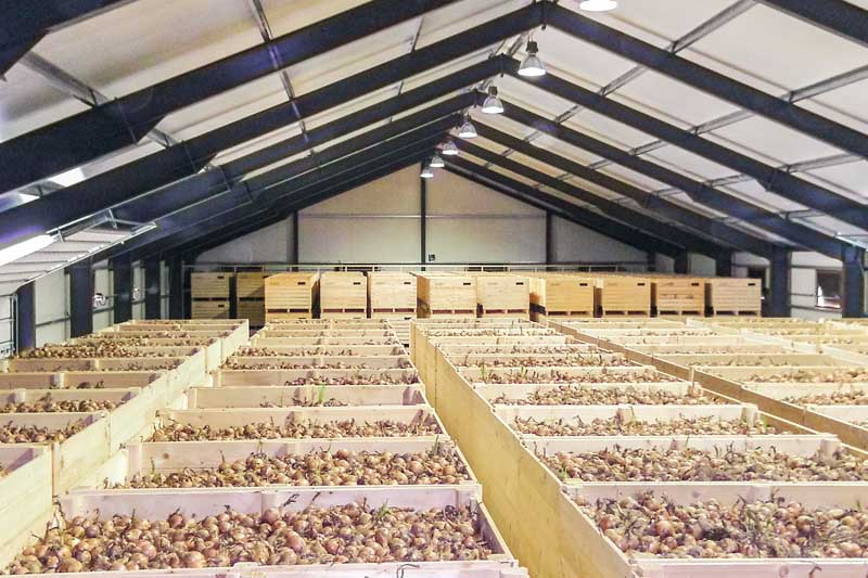Lager Agrarhandel