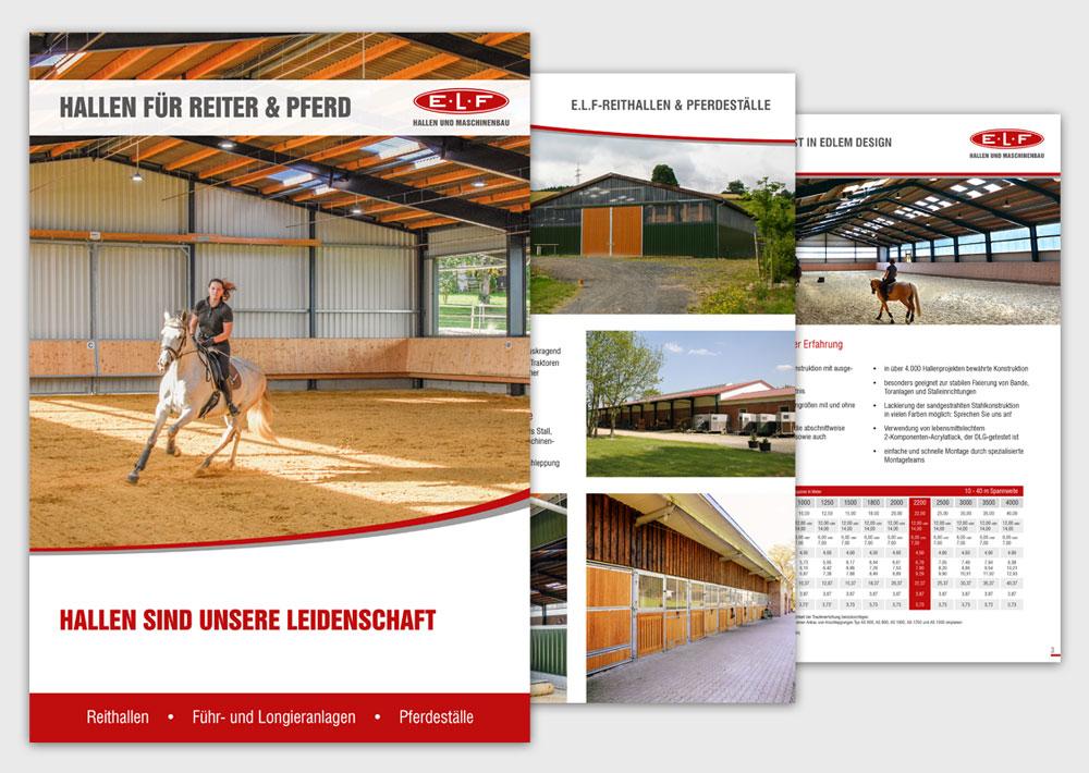 E.L.F-Broschüre Reitsport