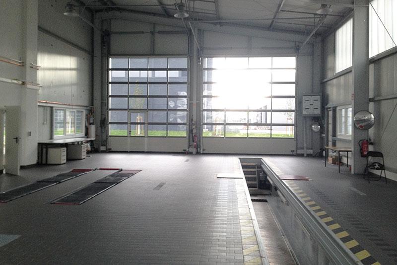 Werkstatthalle KÜS-Prüfstelle 2