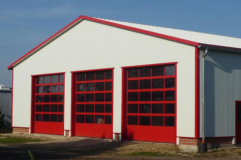 Fahrzeughalle Feuerwehr