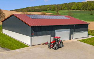 Reportage in der Land & Forst: E.L.F-Halle für den Betrieb von Familie Hyfing