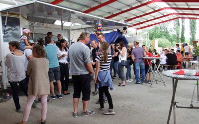 E.L.F-Sommerfest bei strahlendem Sonnenschein