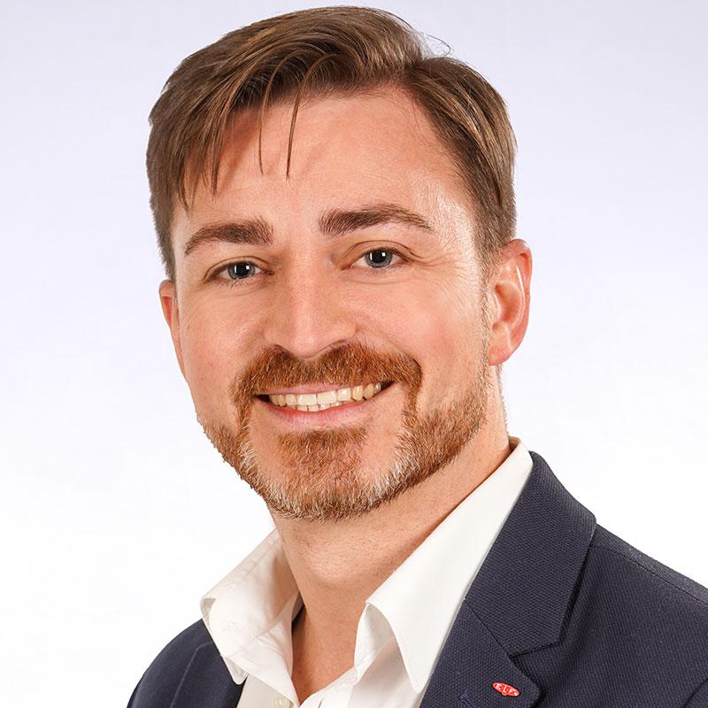 Andreas Seel Gebietsverkaufsleiter bei E.L.F Hallen- und Maschinenbau