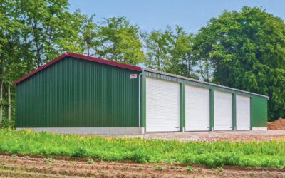 Individuell geplante Hallen für die Landwirtschaft