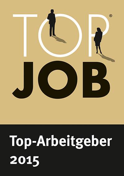 Auszeichnung Top Job 2015